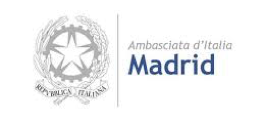 Logo Embajada Madrid