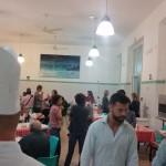 Ottobre di solidarietà - Chef del Rome Cavalieri Waldorf Astoria cucinano i pasti per i più bisognosi di Sant'Egidio.